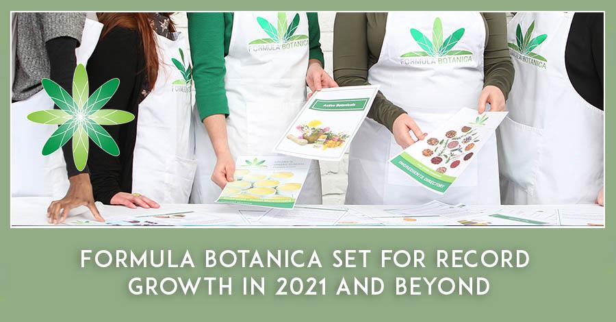 Formula Botanica record business growth