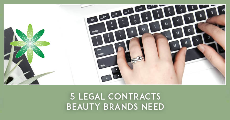 2021-03 5 Legal Contracts Beauty Brands Need