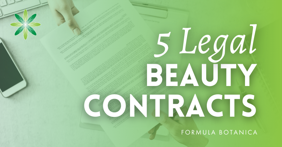 2021-03 Beauty brand legal contracts