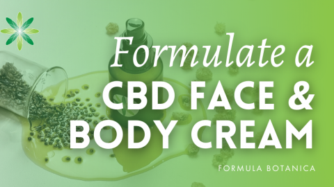 How to make a Soothing CBD Face & Body Cream