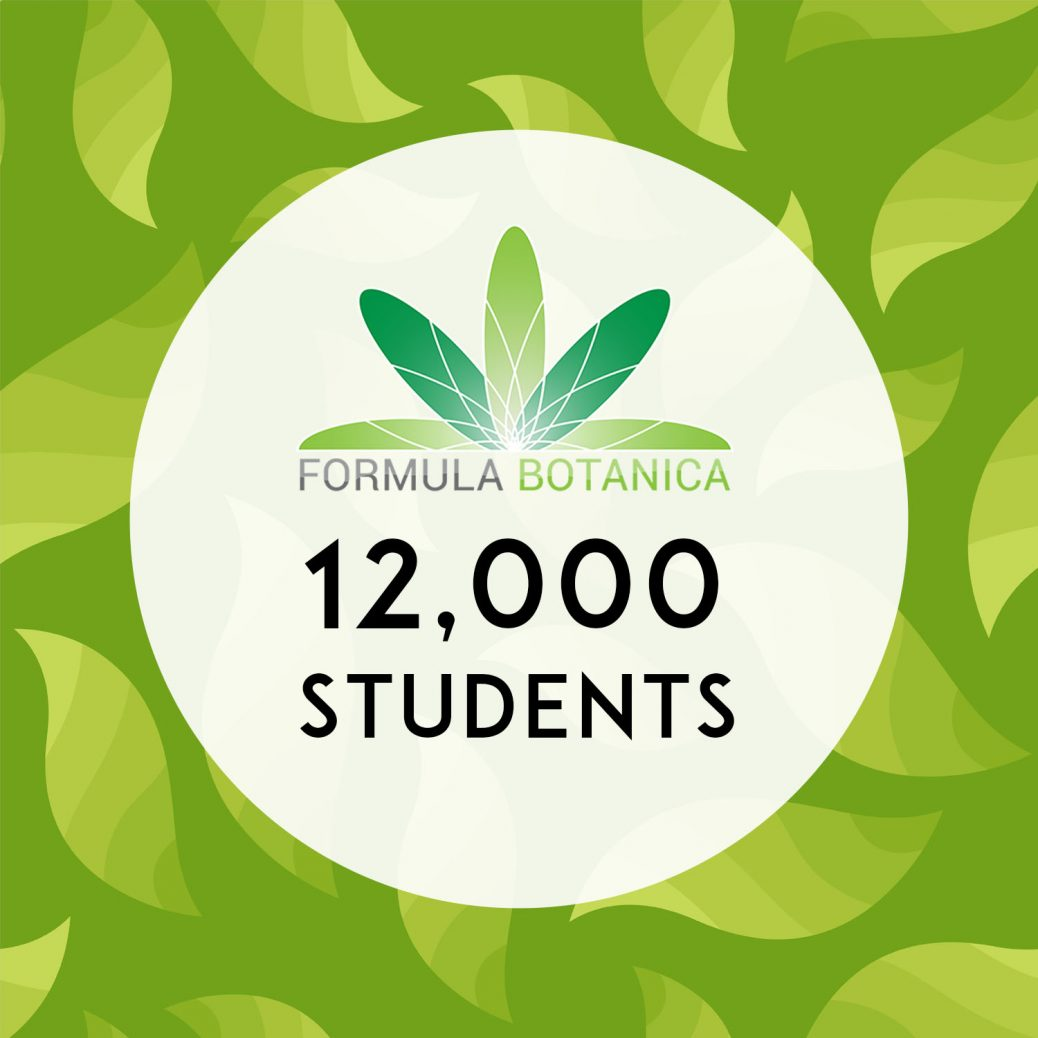 12000 students Formula Botanica