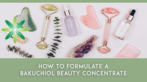 How to Formulate a Bakuchiol Beauty Concentrate