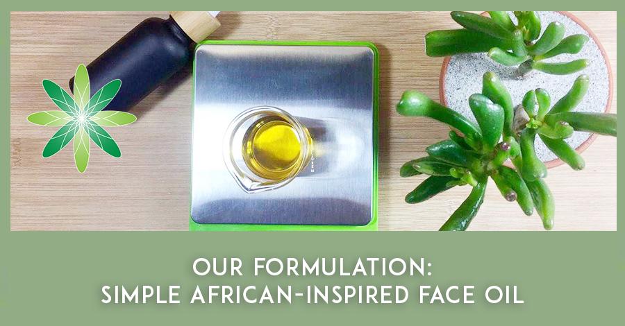 2021-06 Face oil formulation African oils