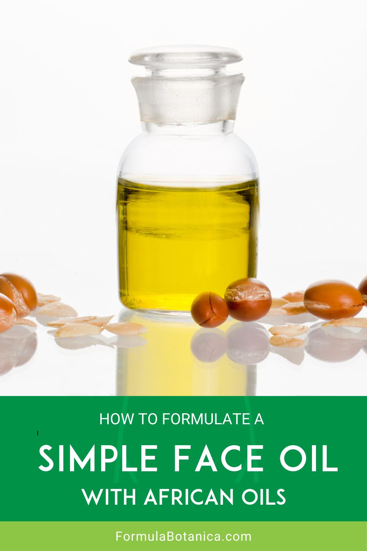 2021-06 Simple Face Oil formulation