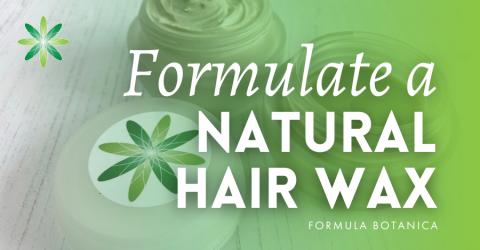 Natural Hair-Styling Products: Make a DIY Hair Wax