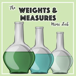 Lab-mini-course-Weights-Measures