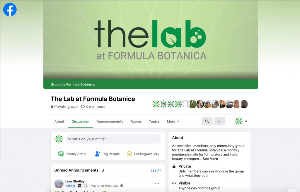 The Lab at Formula Botanica