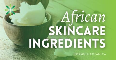 10 Natural African Skincare Ingredients