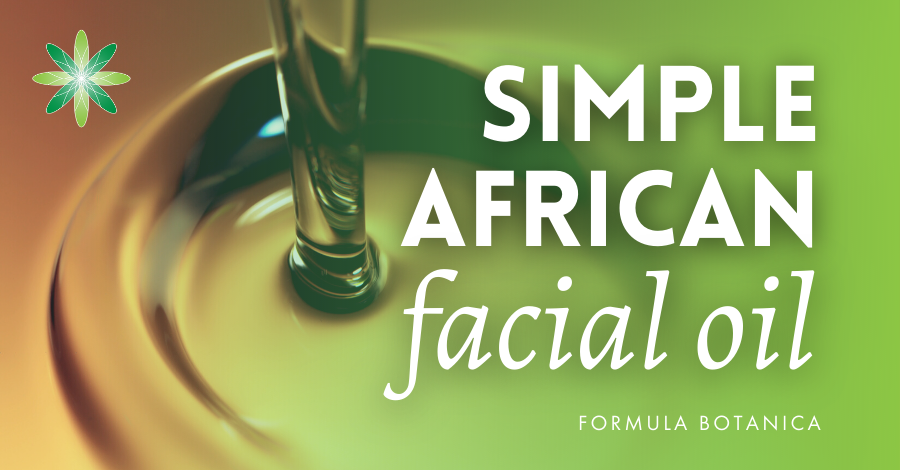Formulate a Simple African Facial Oil