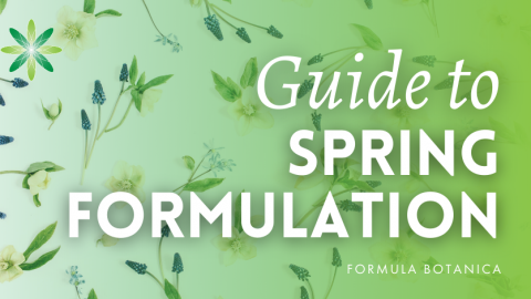 The Formulator's Guide to Spring Skincare