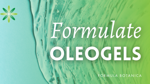 How to make an Oleogel cleanser