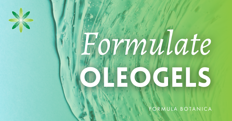 How to formulate an oleogel cleanser