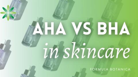 The Formulator's Guide to AHA and BHA Skincare