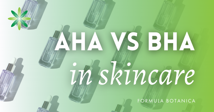 The Formulator's Guide to AHA & BHA in Skincare