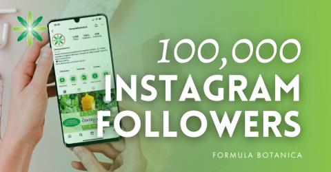 Formula Botanica celebrates 100K Instagram Followers